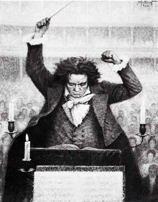 Самой большой страстью Бетховена всегда была Её Величество Музыка.