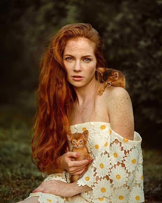Любовь к животным и к природе в целом делает снимки Анастасии Добровольской столь волшебными и искренними.