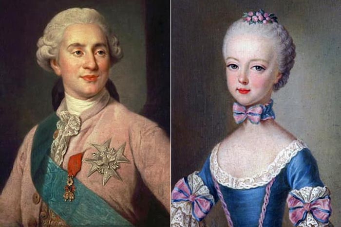 Людовик и Мария-Антуанетта.