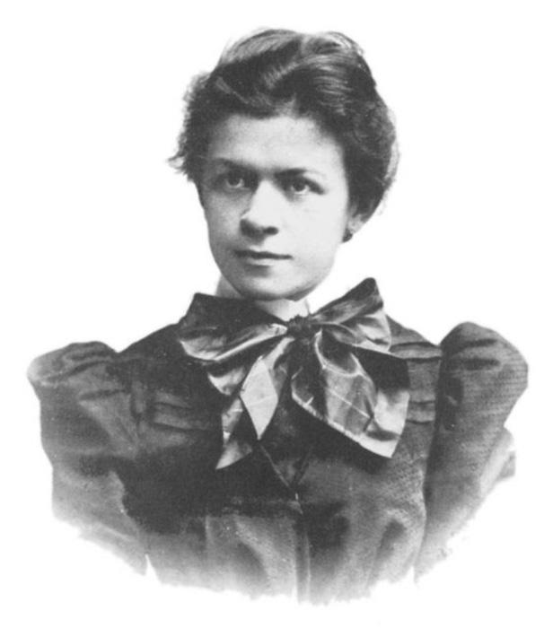 Милева Марич, первая жена Альберта Эйнштейна.