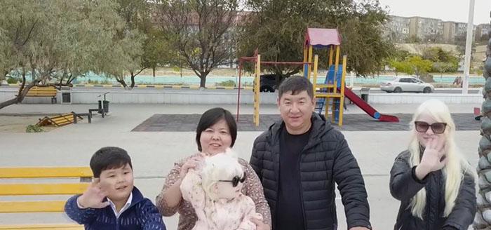 Дружная любящая семья Калагановых.