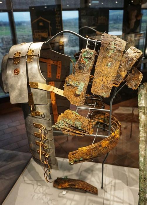 Музей реконструкции римских доспехов.