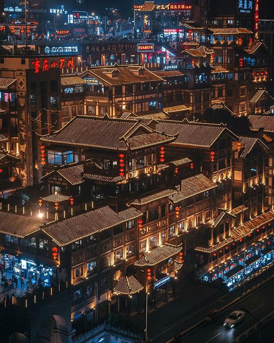 Хунъядон в городе Чунцин, Китай.