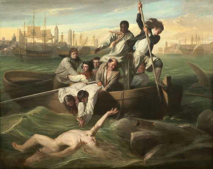 Уотсон и акула, Джон Синглтон Копли.