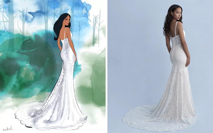 Свадебное платье принцессы Жасмин.