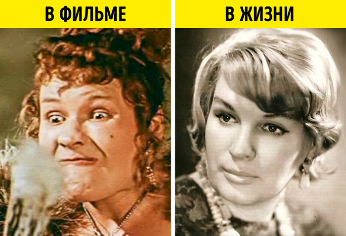 Маргарита Криницына, по словам её мужа, в фильме была просто изуродована до неузнаваемости.