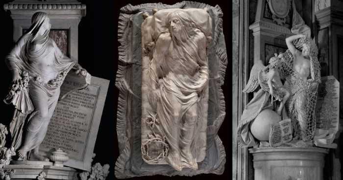 Самые известные скульптуры Капеллы.
