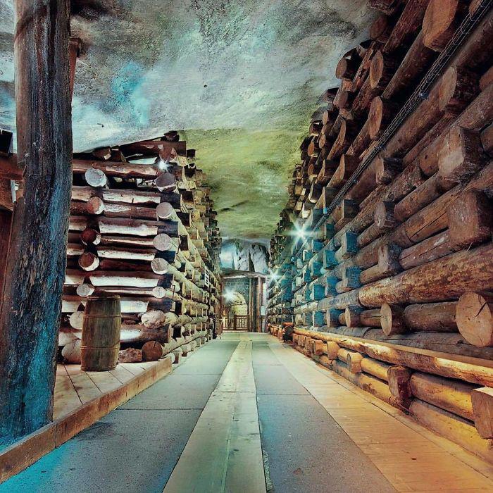 Лабиринт коридоров длиной более 150 метров.