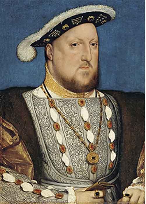 Портрет Генриха VIII, Ганс Гольбейн Младший.