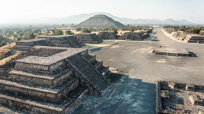 Город пустовал шесть столетий, прежде чем его заняли ацтеки.