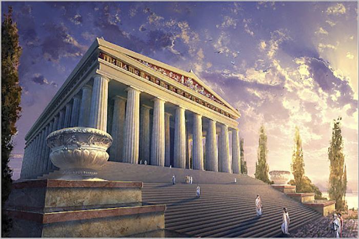 Современники сразу внесли храм Артемиды в Эфесе в список чудес света.