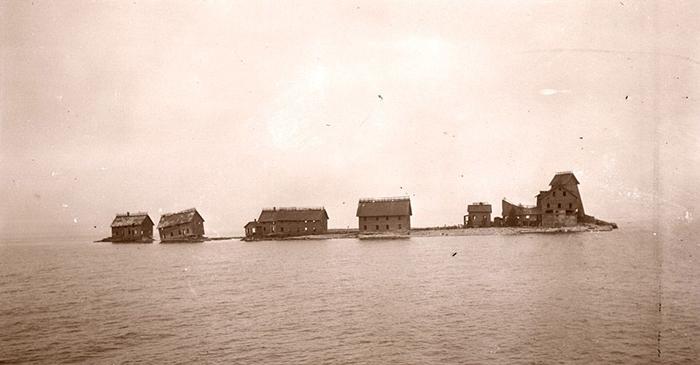 Серебряный островок в 1911 году.