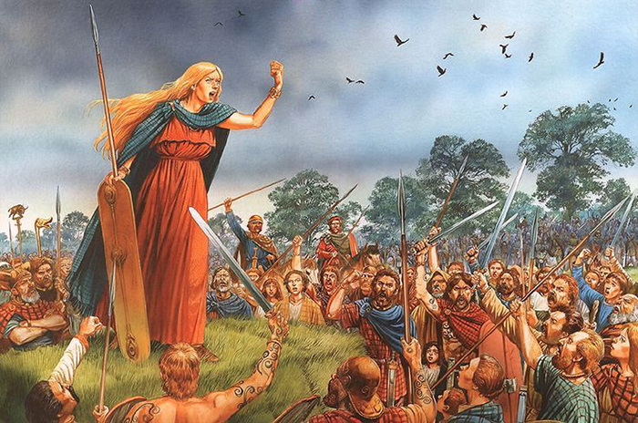 Мятежная королева кельтов - Боудикка.