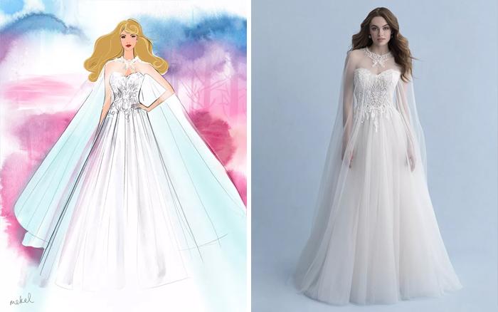 Свадебное платье принцессы Авроры.