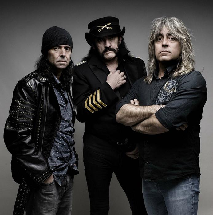 Очень влиятельная британская группа Motörhead.