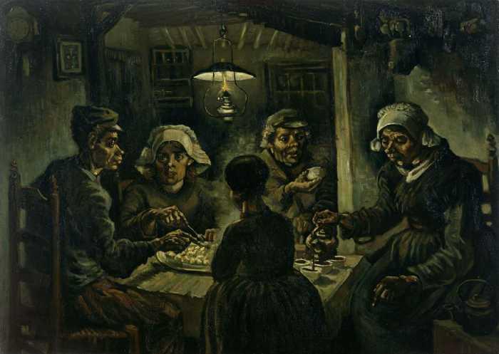 Едоки картофеля, Винсент Ван Гог.