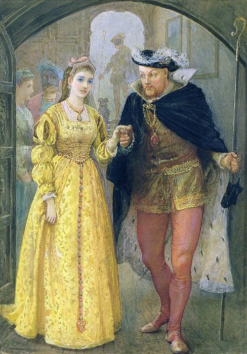 Анна Болейн и Генрих VIII.