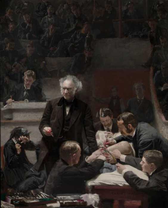 Клиника Гросса, Томас Икинс.