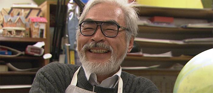 Хаяо Миядзаки.