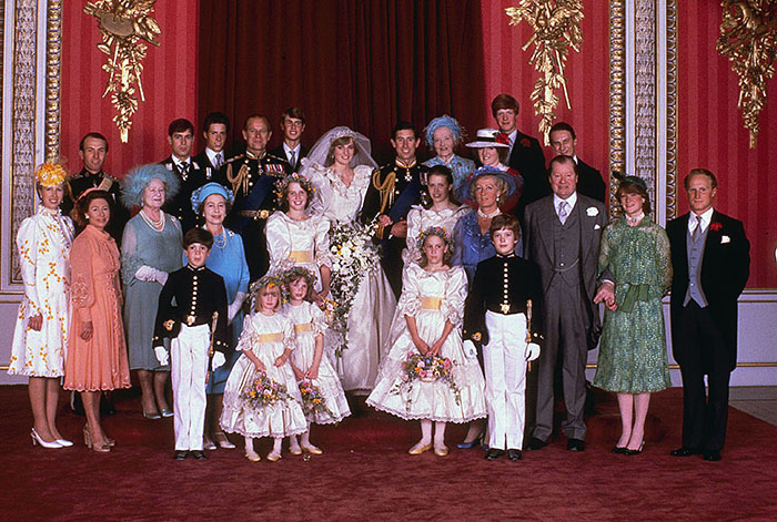 Свадьба принца Чарльза и Дианы Спенсер.