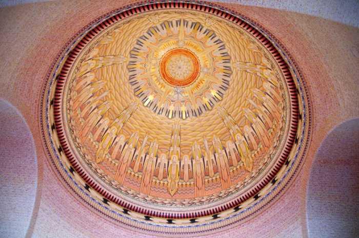Купол в Зале памяти.