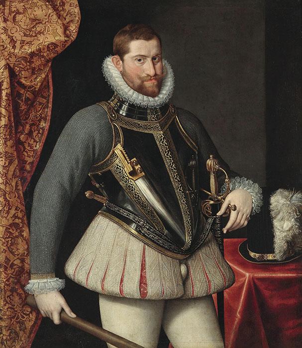 Рудольф II, император Священной Римской империи.