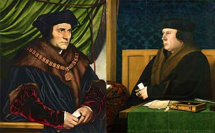 Портреты Томаса Кромвеля и Томаса Мора, Ганс Гольбейн младший.