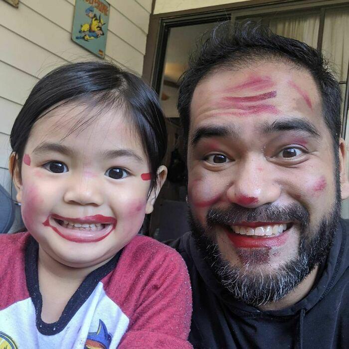 Счастливая улыбка дочери стоит того!