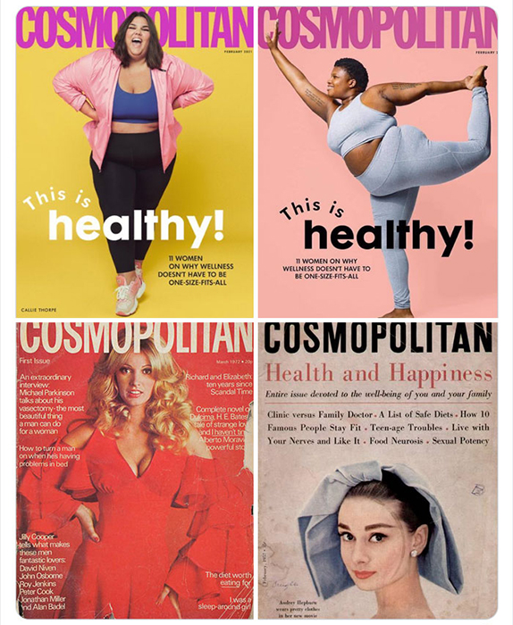 Для Cosmopolitan это не первый раз, когда они оказались в центре подобного скандала. Раньше их критиковали за то, что на обложках худые женщины.