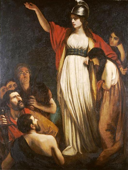 Даже своих врагов Боудикка очаровывала своей бесстрашностью и красотой.
