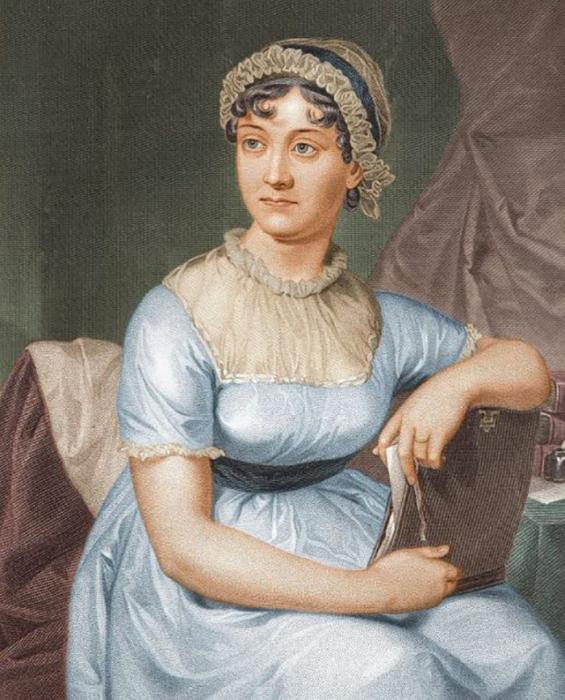 Портрет Джейн Остин.