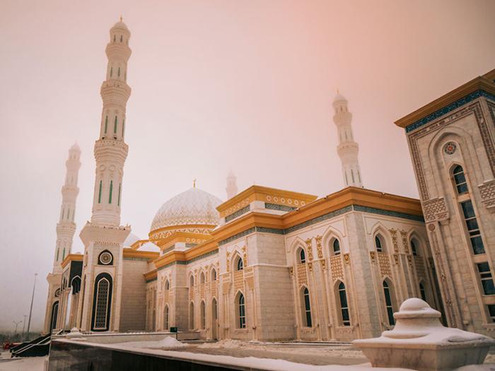 Мечеть в Нур-Султане.