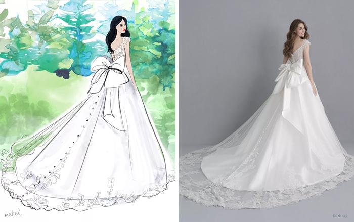 Свадебное платье принцессы Белоснежки.