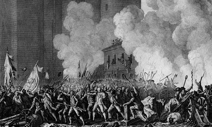 Всё изменила Французская революция.