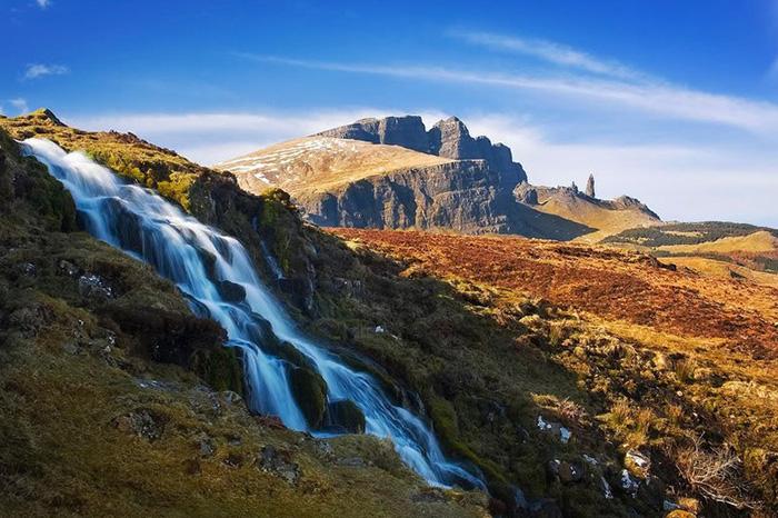 Водопад Меалт.