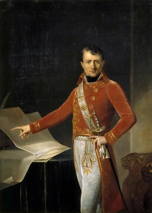 Первый консул Наполеон Бонапарт.