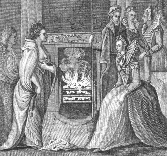 Историческая встреча пиратки и королевы.