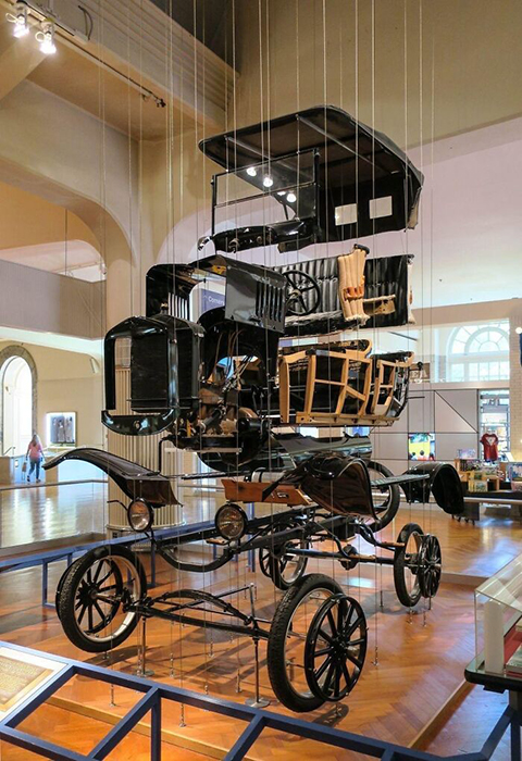 Ford Model T в Музее инноваций Генри Форда.