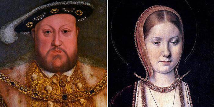 Генрих VIII и Екатерина Арагонская.