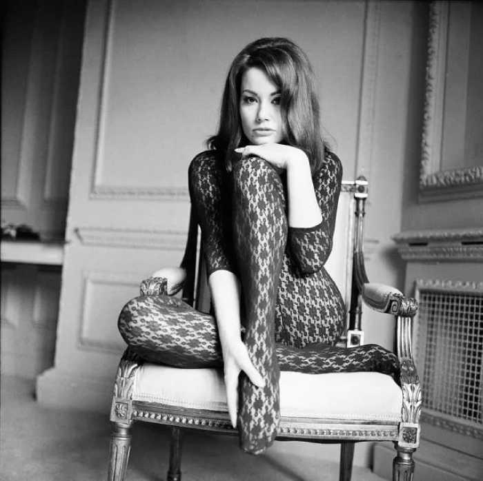 Клодин Оже была знаменитой моделью.