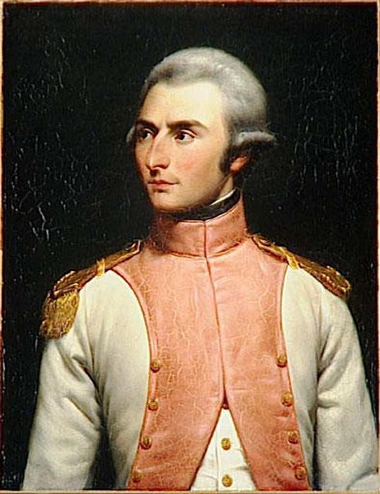 Молодой Жан-Батист Бернадот в чине лейтенанта.