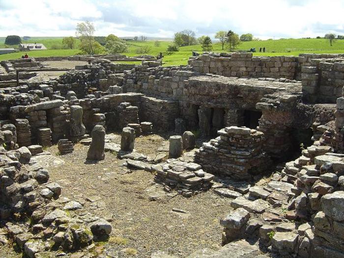 Помещение бани, обнаруженное в форте.