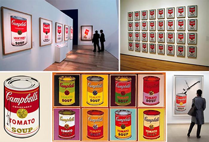Мечта Энди Уорхола сбылась - его картины в коллекции именитых музеев.