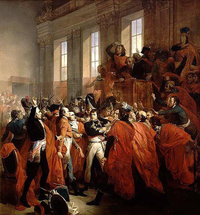 В результате переворота Наполеон пришёл к власти.