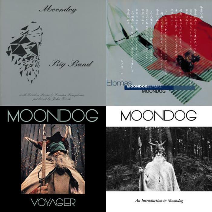 Альбомы Moondog.