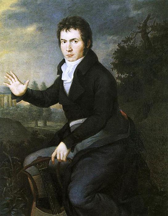 Художник не зря видел в композиторе Орфея.