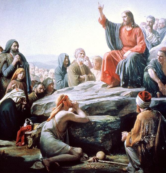 Традиционно Иисуса изображали с длинными волосами и бледной кожей.