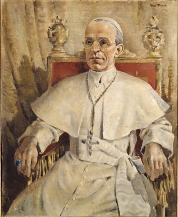 Портрет папы Пия XII.
