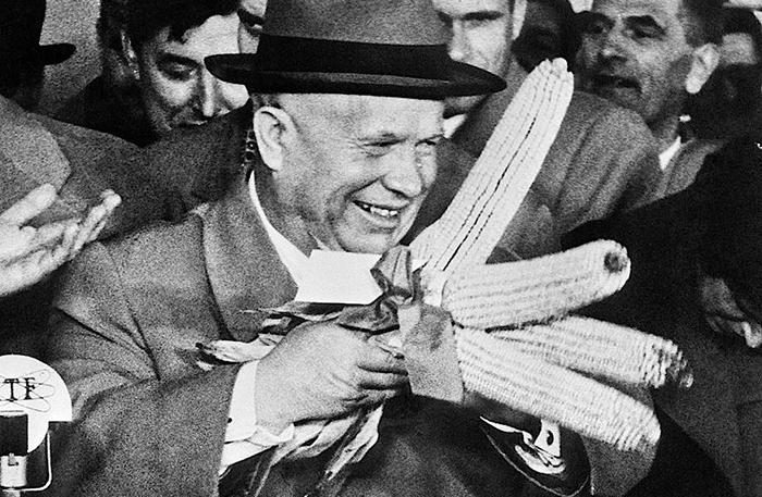 Гарст вдохновил Хрущёва выращивать кукурузу.