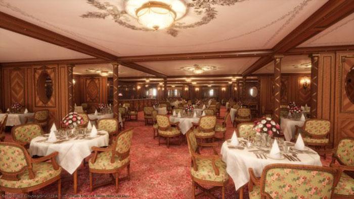Зрители смогут побывать во всех помещениях судна, включая каюты.